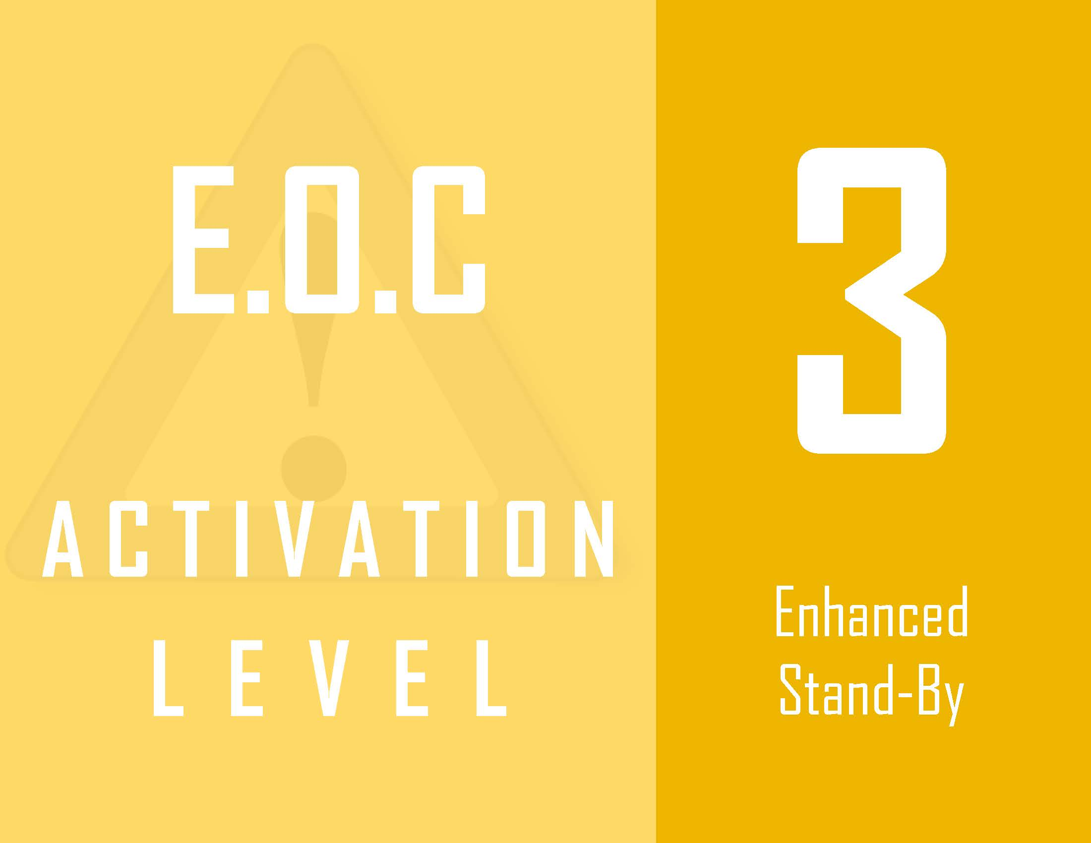 EOC Activation Level Image